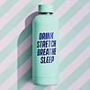 Wild & Wolf Water Bottle   Drink Stretch Breathe Sleep   Drinkfles