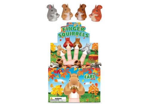 Cortina Fingerpuppet Squirrel - Eekhoorn