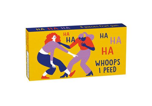 Cortina Kauwgom - Ha Ha Ha Whoops I Peed