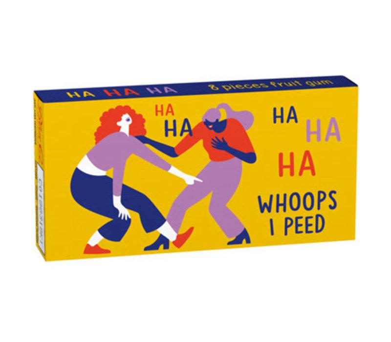 Kauwgom - Ha Ha Ha Whoops I Peed