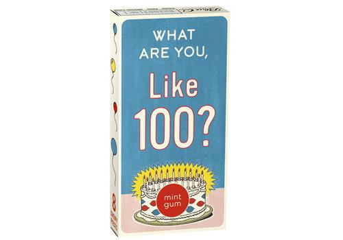 Cortina Kauwgom - What Are You Like 100?