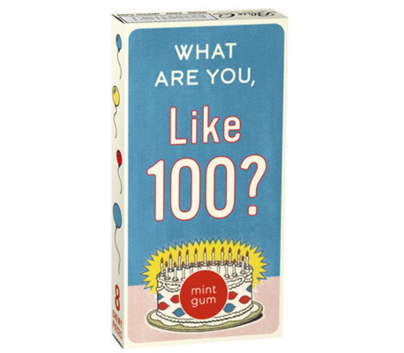 Kauwgom - What Are You Like 100?