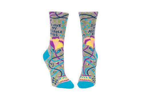 Cortina Dames sokken - Love My Asshole Kids