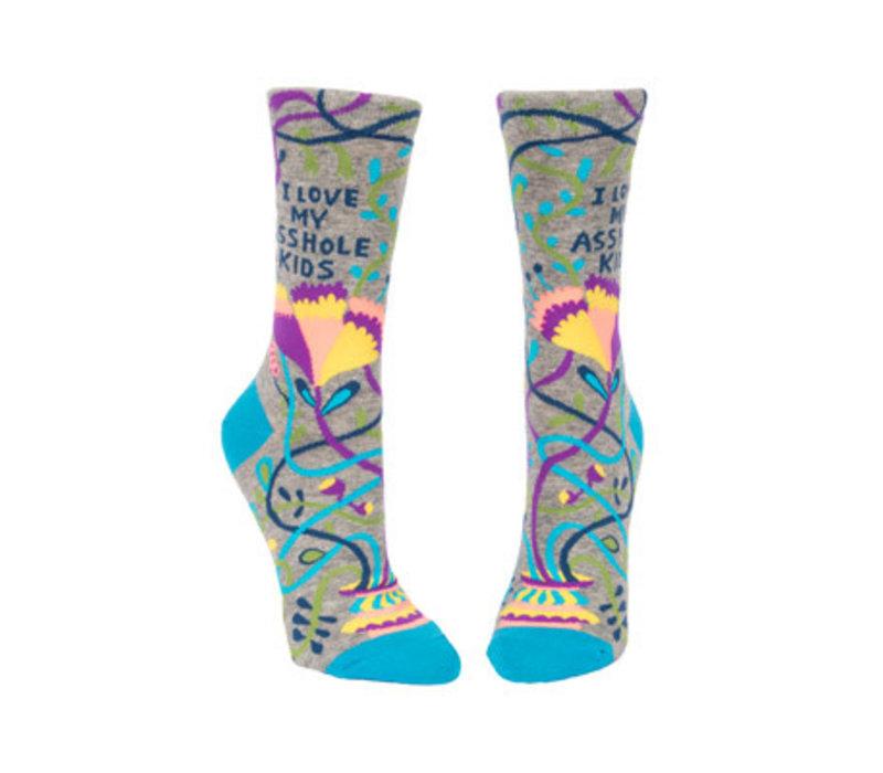 Dames sokken - Love My Asshole Kids
