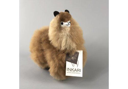 Inkari Alpaca klein Caramel