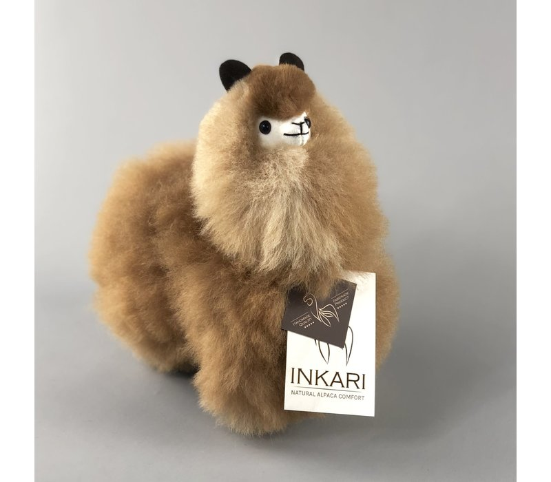 Alpaca klein Caramel