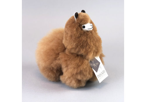 Inkari Alpaca Klein Hazelnoot