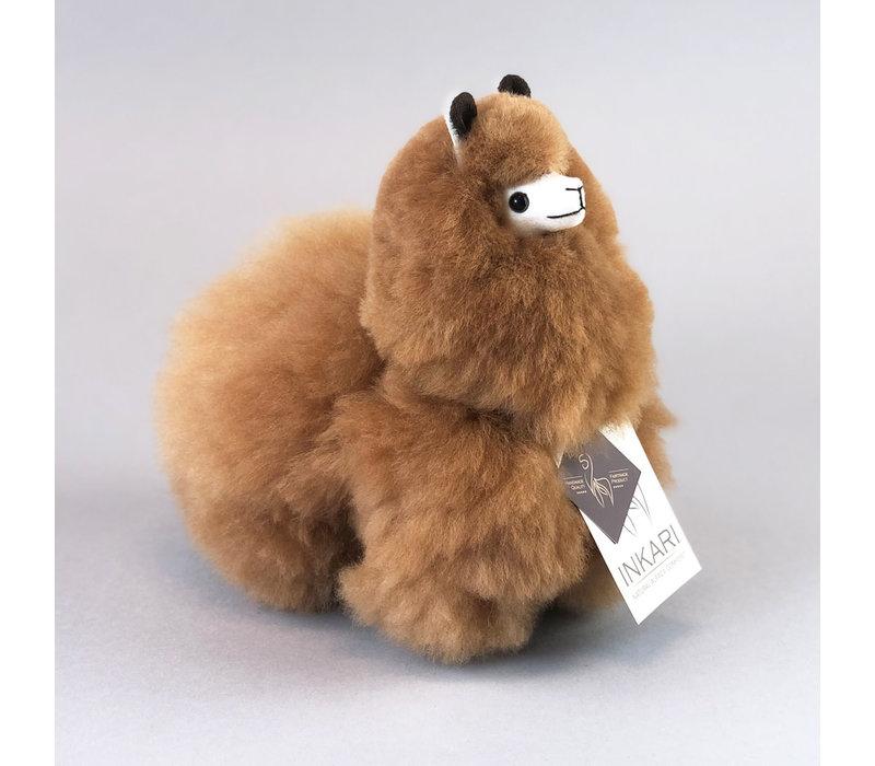 Alpaca Klein Hazelnoot
