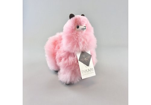 Inkari Alpaca klein roze