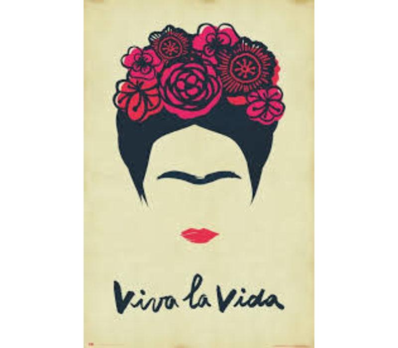 Poster 161 |  FRIDA KHALO VIVA LA VIDA