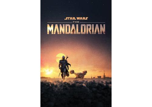 Poster 03 |  Star Wars THE MANDALORIAN DUSK