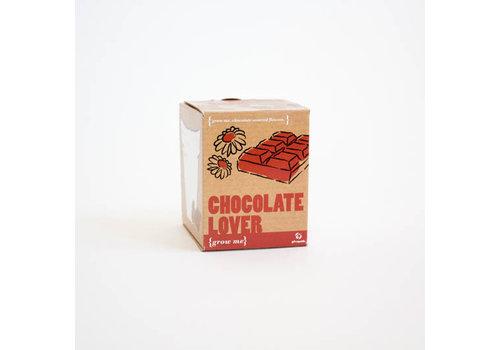 Cortina Plantje Grow me - Chocolate