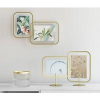 Infinity Square | 13x18 cm | brass/goud