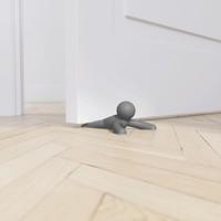 Buddy- deurstoppers set  grijs
