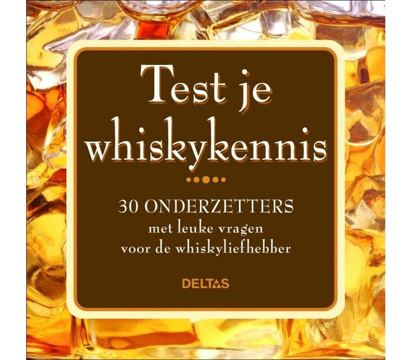 Test je whiskykennis onderzetters