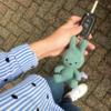 Bon Ton Toys Nijntje Sleutelhanger Corduroy Green 10 cm