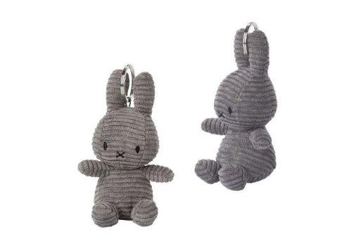 Bon Ton Toys Nijntje Sleutelhanger Corduroy Grey 10 cm