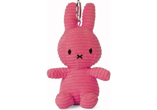 Bon Ton Toys Nijntje Sleutelhanger Corduroy Bubblegum Pink 10 cm