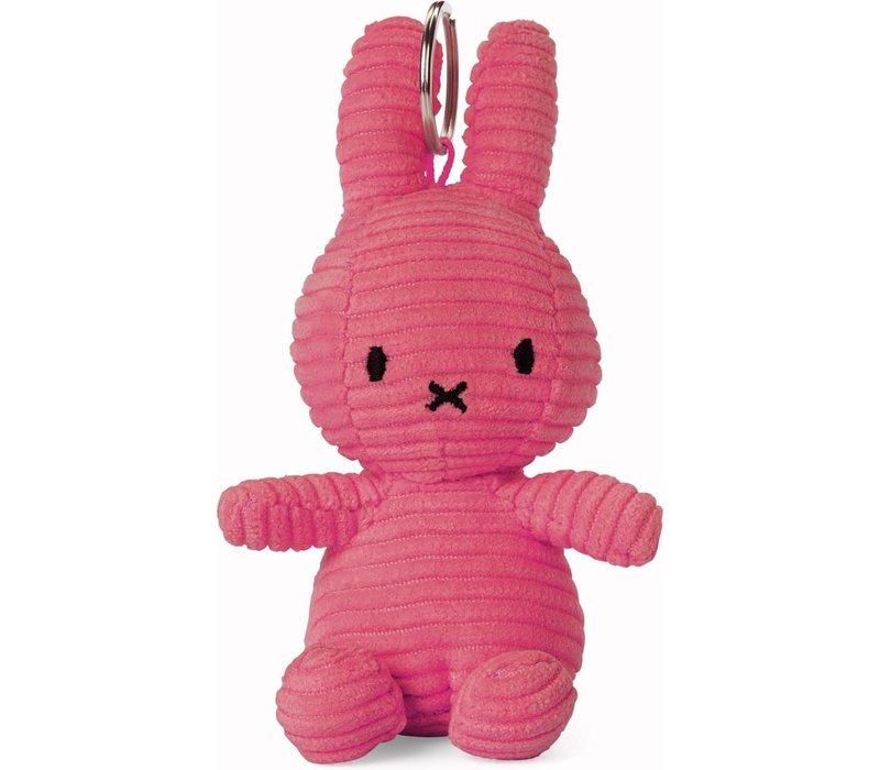 Nijntje Sleutelhanger Corduroy Bubblegum Pink 10 cm