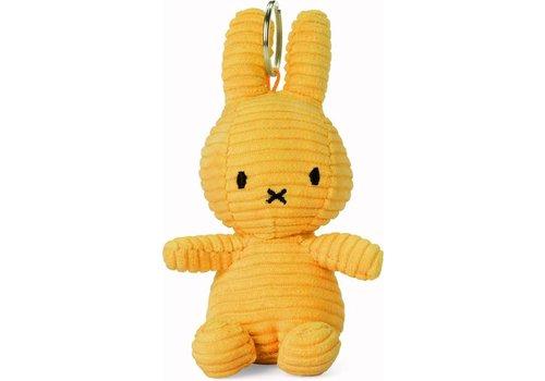 Bon Ton Toys Nijntje Sleutelhanger Corduroy Yellow 10 cm