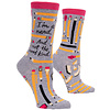 Cortina Dames sokken - I'm a nerd