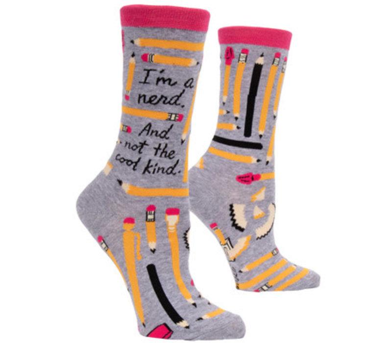 Dames sokken - I'm a nerd