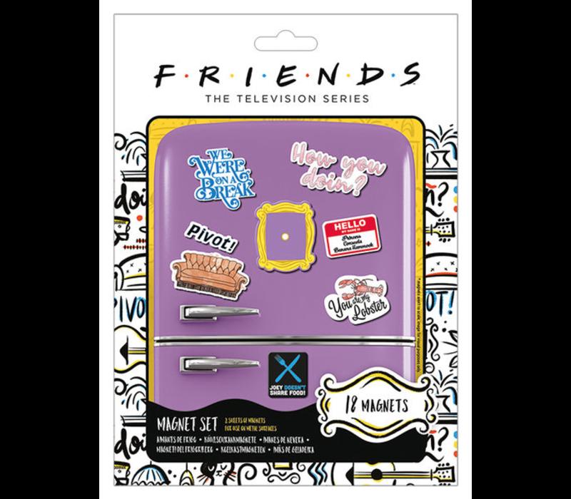 Friends Magneet set