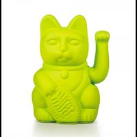 Lucky Cat - neon groen