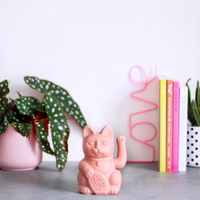 Lucky Cat - pink