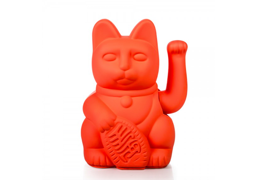 Donkey Lucky Cat - neon pink