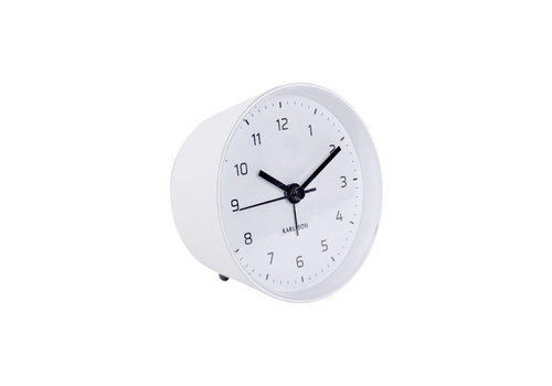Present Time Alarm clock Cone | white | wekker wit