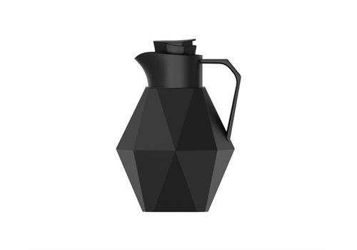 Present Time Thermos bottle   Origami black   Thermoskan zwart