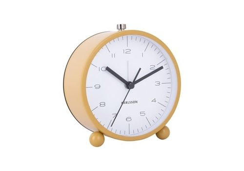 Present Time Alarm clock | Pellet feet yellow | wekker