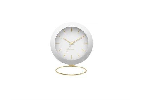 Present Time Alarm clock | Globe white | wekker