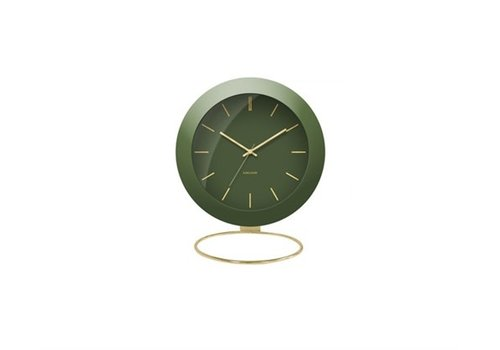 Present Time Alarm clock | Globe moss green | wekker