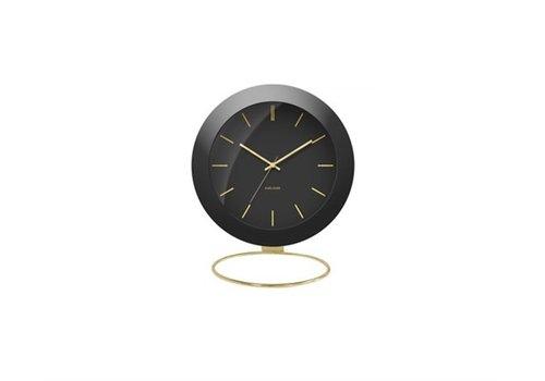 Present Time Alarm clock | Globe black | wekker