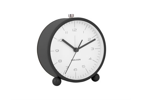 Present Time Alarm clock | Pellet feet black | wekker
