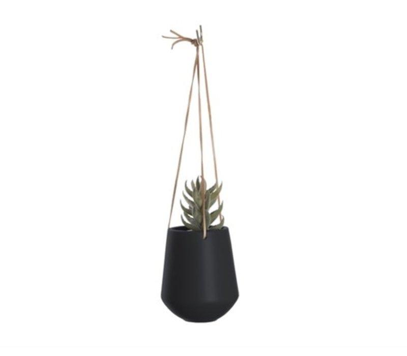 Hang bloempot |  Skittle | Medium | zwart