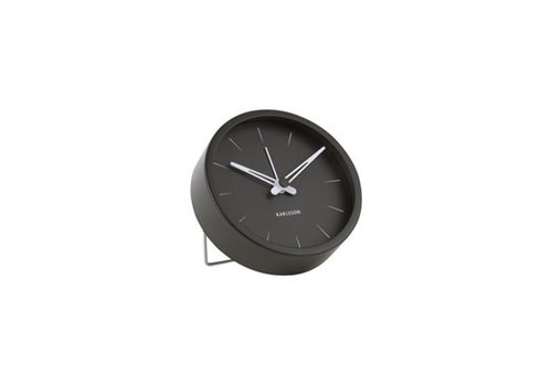 Present Time Alarm Clock Lure | Small | Steel Black