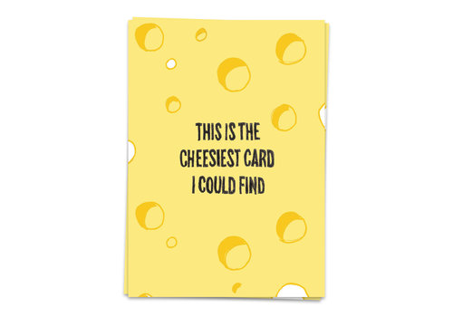 Kaart Blanche This is the cheesiest card