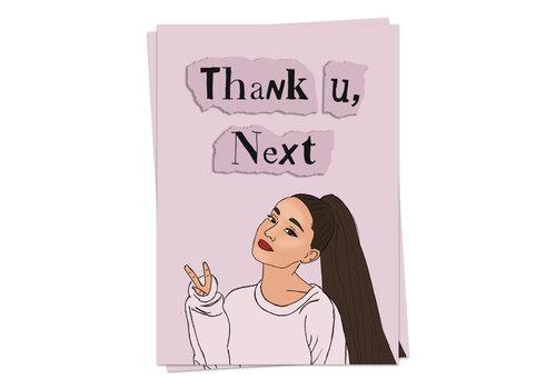 Kaart Blanche Thank U, Next
