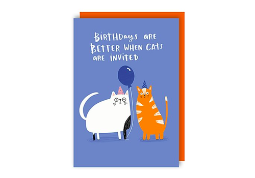 Lucy Maggie Designs Birthdays are better when cats are invited