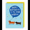 Lucy Maggie Designs Wenskaart Fave Weirdo Birthday