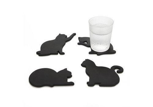 Balvi Onderzetters  - vier katten