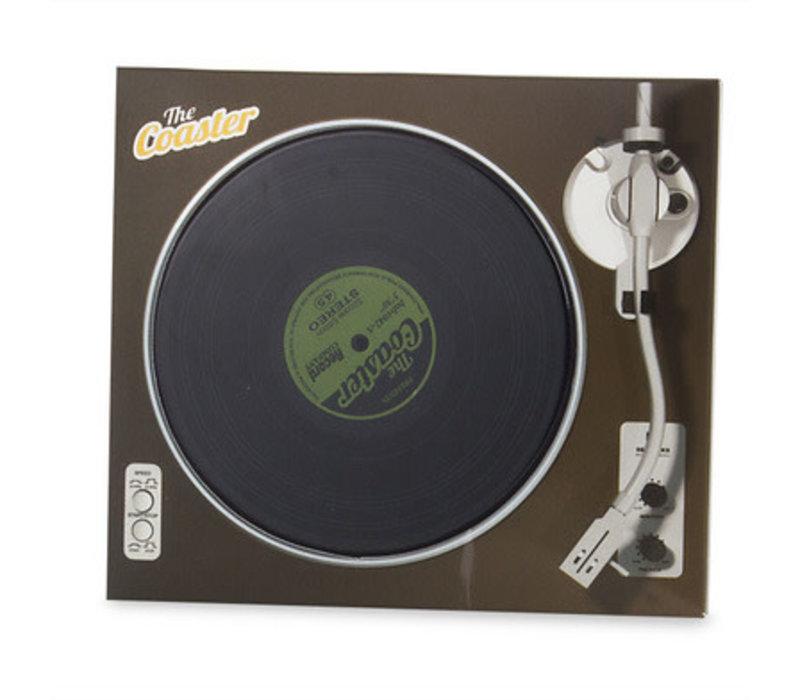 Onderzetter set in de vorm van een LP