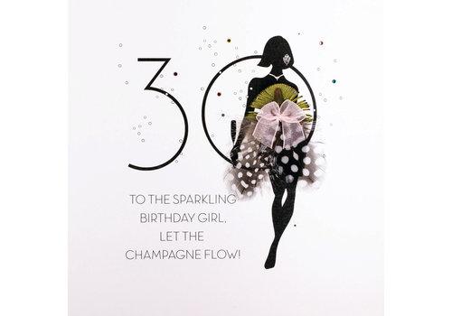 Five dollar shake 30 Sparkling Birthday girl