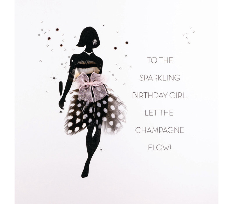To the sparkling birthday