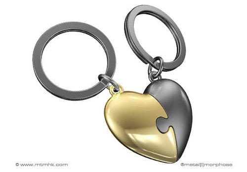 MTM Sleutelhanger Puzzle heart
