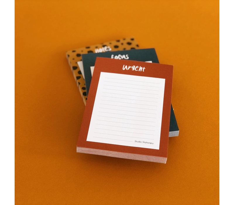 Noteblock - Urgent