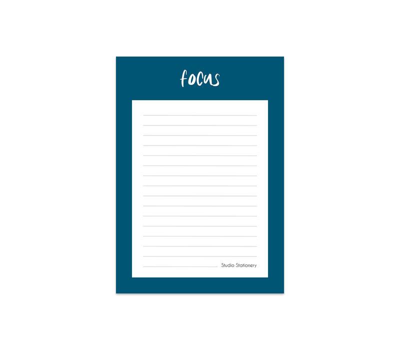 Notitieblok - Focus